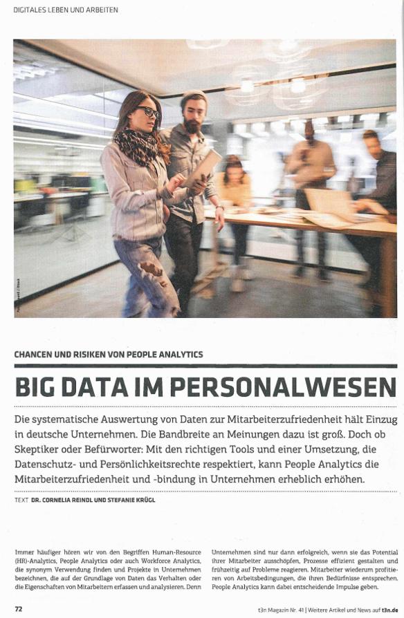 Big Data im Personalwesen